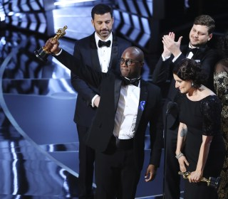 'Moonlight' Makes Oscars History as 1st LGBTQ Best Picture Winner