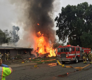 Three Killed, Two Injured When Small Plane Crashes Into California Home