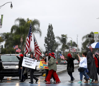 Trump Supporters Rally Across the Country