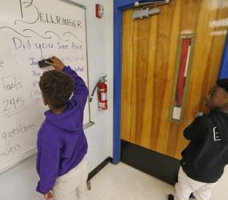 'Moonlight' Stars Alex Hibbert and Jaden Piner Return to School