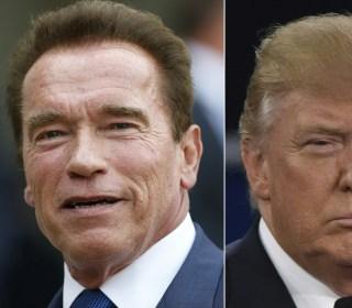 Trump on Schwarzenegger: 'He Was Fired' From 'Celebrity Apprentice'