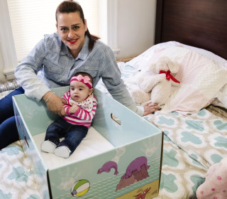 Hospitals Give Away Baby Boxes to Curb Infant Mortality