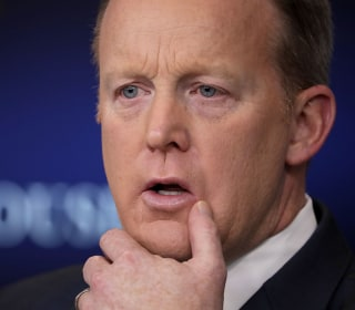 Sean Spicer Faces Press as Health Care Bill Hangs in Balance