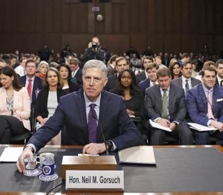 Democrats Delay Vote on Supreme Court Nominee Neil Gorsuch