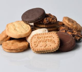 Which Girl Scout cookie is the healthiest?