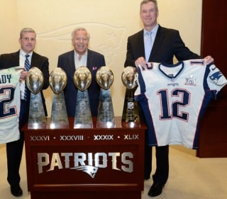 Tom Brady's Stolen Super Bowl Jerseys Returned to Patriots by FBI