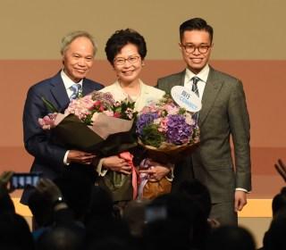 Beijing's Pick Lam Chosen as Hong Kong Leader, in No Surprise