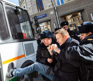 U.S. Condemns Arrest of Russian Opposition Leader Alexei Navalny