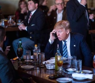 Trump Now Uses an iPhone — Despite Once Calling for an Apple Boycott