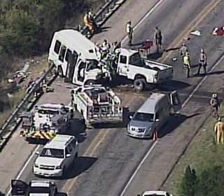 12 Dead After Pickup Truck Veers Into Church Van Full of Seniors in Texas