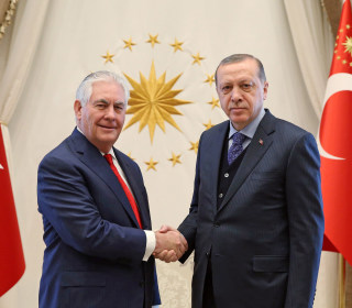Tillerson's Tricky Turkey Trip: ISIS, Kurds and Cleric Dominate Agenda