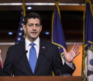 Ryan, Trump Pile on the Freedom Caucus After Health Care Failure