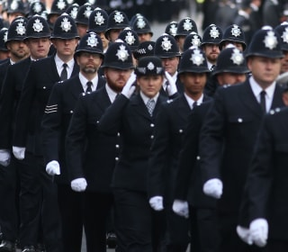 London Honors Slain Terror Attack Police Officer Keith Palmer