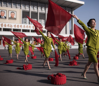 Pyongyang Postcards: North Korea Prepares for Holiday as Tensions Escalate