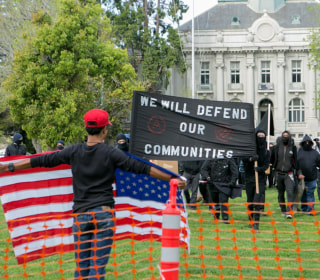 Tax Day Turmoil: Protesters Gather, Clash in Berkeley