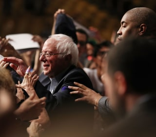 At Democratic 'Unity' Rally in Miami, It's Still 'Bernie' Who Draws Young Latinos