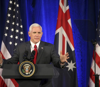 Pence Says U.S. Will Honor Australia Refugee Deal Trump Called 'Dumb'