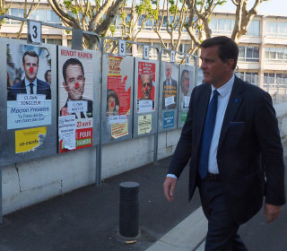 French Presidential Election: Security Tight As Polling Stations Open