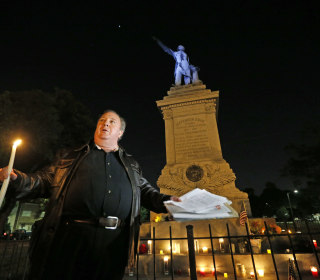 New Orleans Starts Tearing Down Confederate Monuments, Sparking Protest