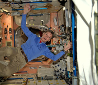NASA Astronaut Sets New Record for Americans in Space