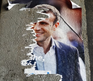 Macron Campaign Hit by Hackers With Possible Russia Links