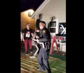 San Antonio Police Officer Answers Noise Complaint With Salsa Dance Move that Goes Viral