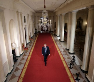 The Trump Era Begins: The First 100 Days in Pictures
