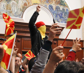 Why Macedonia's Parliament Was Stormed by Masked Protesters