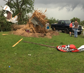 Six Dead, Dozens Hurt After Tornadoes Hit Texas, South