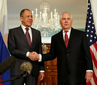 Tillerson Defends Election Interference Not Coming Up With Lavrov