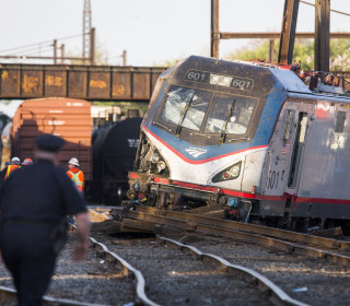 Amtrak Engineer Won't Be Charged in Train Crash That Killed 8