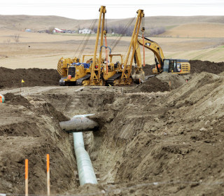 Dakota Access Pipeline Springs a Small Leak in South Dakota