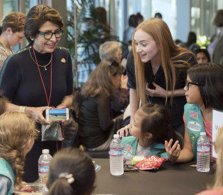 Girl Scouts CEO urges young girls to be fearless in science