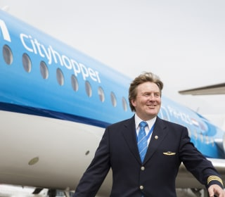Dutch King Willem-Alexander Reveals He Was KLM Pilot for 21 Years