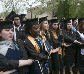 Dozens of Notre Dame Students Walk Out of VP Mike Pence Commencement Speech