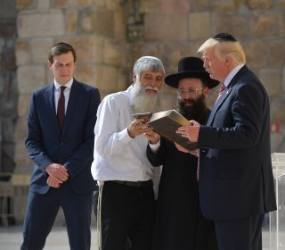 President Trump Tours Holy Sites in Jerusalem