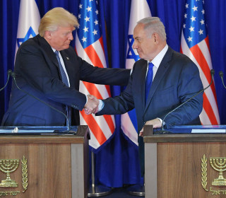 Trump, Netanyahu Vow to Pursue Mideast Peace, Confront Iran