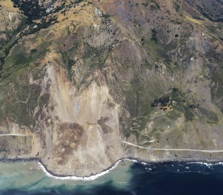 Massive Rockslide Buries Stretch of California's Highway 1