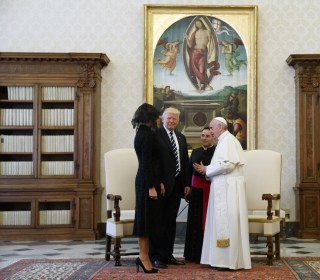 Trump Family Tours Vatican, Meets With Pope
