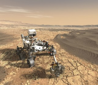 NASA's Mars 2020 Rover Looks Right at Home on the Red Planet