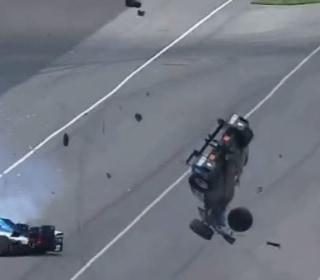 IndyCar Driver is OK After Unbelievable Crash at Indy 500