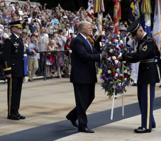 President Trump Pays Memorial Day Tribute at Tomb of Unknown Soldier