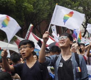Taiwan's Same-Sex Marriage Ruling Gives Asian Neighbors Hope
