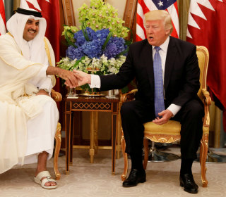 Trump Credits His Middle East Trip for Saudi-Led Diplomatic Break With Qatar