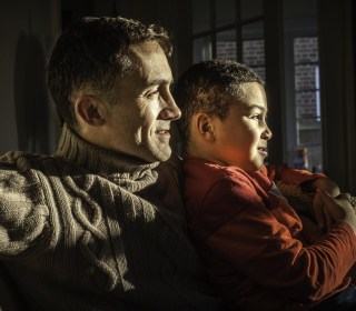 Living Color: Fathers Talk to Their Bi-Racial Sons About Identity
