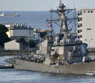 Search Continues for 7 Missing U.S. Sailors After Destroyer Collision Off Japan