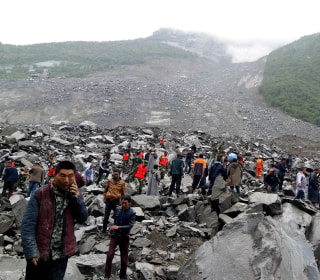 China Landslide: 120 Feared Buried in Mountain Village in Sichuan