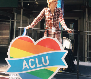 Chelsea Manning Takes Part in Her First NYC Pride March Since Release From Prison