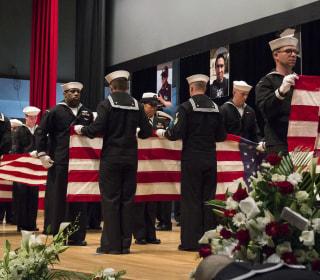 U.S. Sailors Killed in Ship Collision Off Japan Honored in Navy Memorial