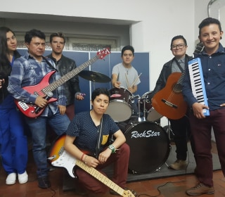 Colombian Trans Male Band Mixes Music and Advocacy